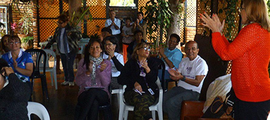 XII Reunión de Capítulos en la Ecoaldea Alborada, Borotá