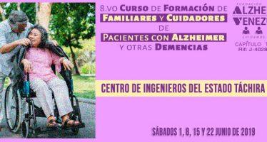 8º Curso de Formación de Familiares y Cuidadores de Pacientes con Alzheimer y otras Demencias Junio 2019