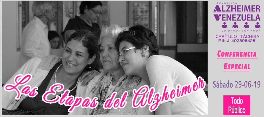 Conferencia Las Etapas del Alzheimer 29-06-19