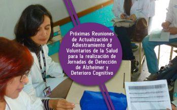 Entrenamiento de Voluntarios para las Pesquisas del año 2019