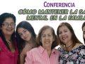 Conferencia Cómo Mantener la Salud Mental en la Familia
