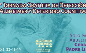11.a Jornada Gratuita de Detección de Alzheimer y Deterioro Cognitivo